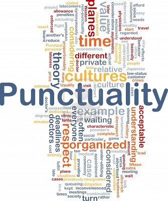 Punctuality Martial Arts